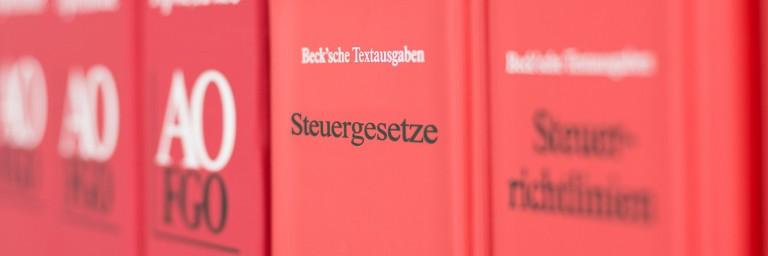 Steuerberater Boeck, Leistungen, Steuer Bücher